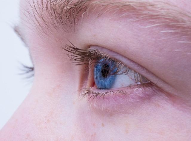 Zbliżenie na twarz i oko